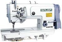 Siruba T828-75-032H Двухигольная промышленная швейная машинас отключением игл