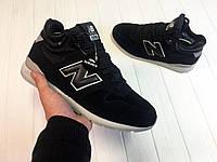 Зимние кроссовки мужские New Balance 696 черные
