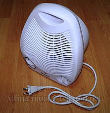 Обогреватель электрический Wimpex FAN HEATER WX-424 бытовой тепловентилятор (дуйка, дуйчик), фото 3