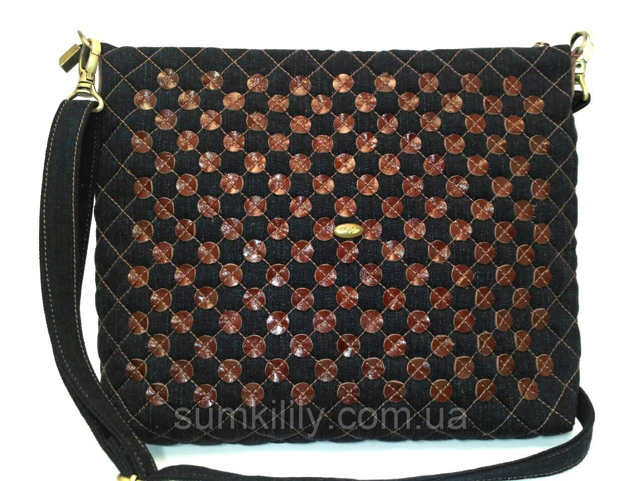 Джинсовая сумочка Франка