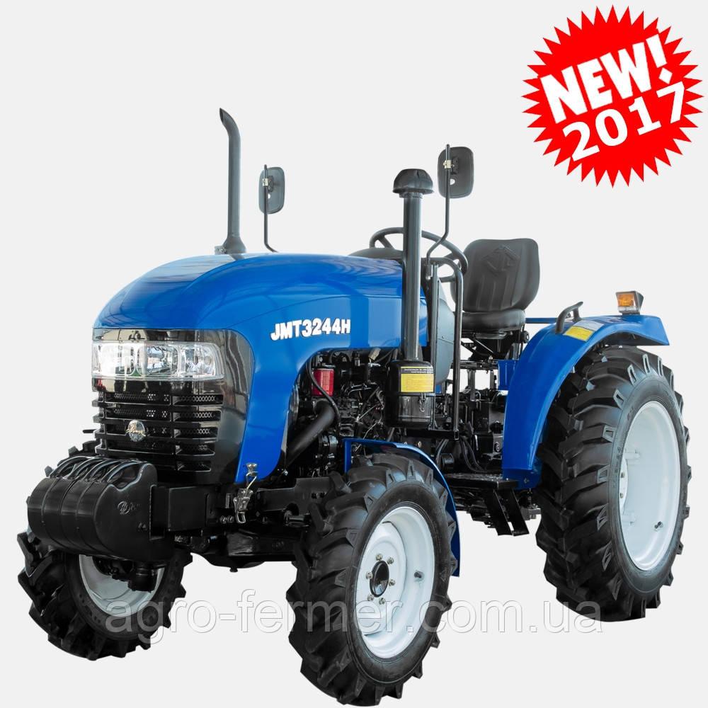 Трактор, міні-трактор JINMA JMT3244HX (24 к. с., 4х4, 3-цил. диз. двигун, блокування)