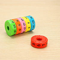 Магнитный математический цилиндр абак Детская игрушка для изучения статья интеллекта Игрушечный подарок