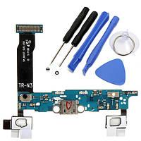 USB порт зарядки док гибкий кабель и инструменты для Samsung Galaxy Примечание4 Tmobile n910t