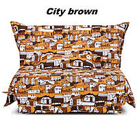 Диван SMS 1,2 City brown (Comfoson-ТМ)