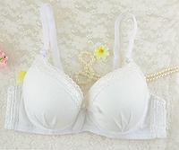 Женский белый комплект нижнего белья