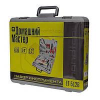 Набор инструмента с комплектом метизов и аксессуаров 100ед. INTERTOOL ET-5126, фото 1