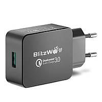 [Qualcomm Certified] BlitzWolf® BW-S5 QC3.0 18W USB Зарядное устройство EU адаптер с технологией мощности 3S