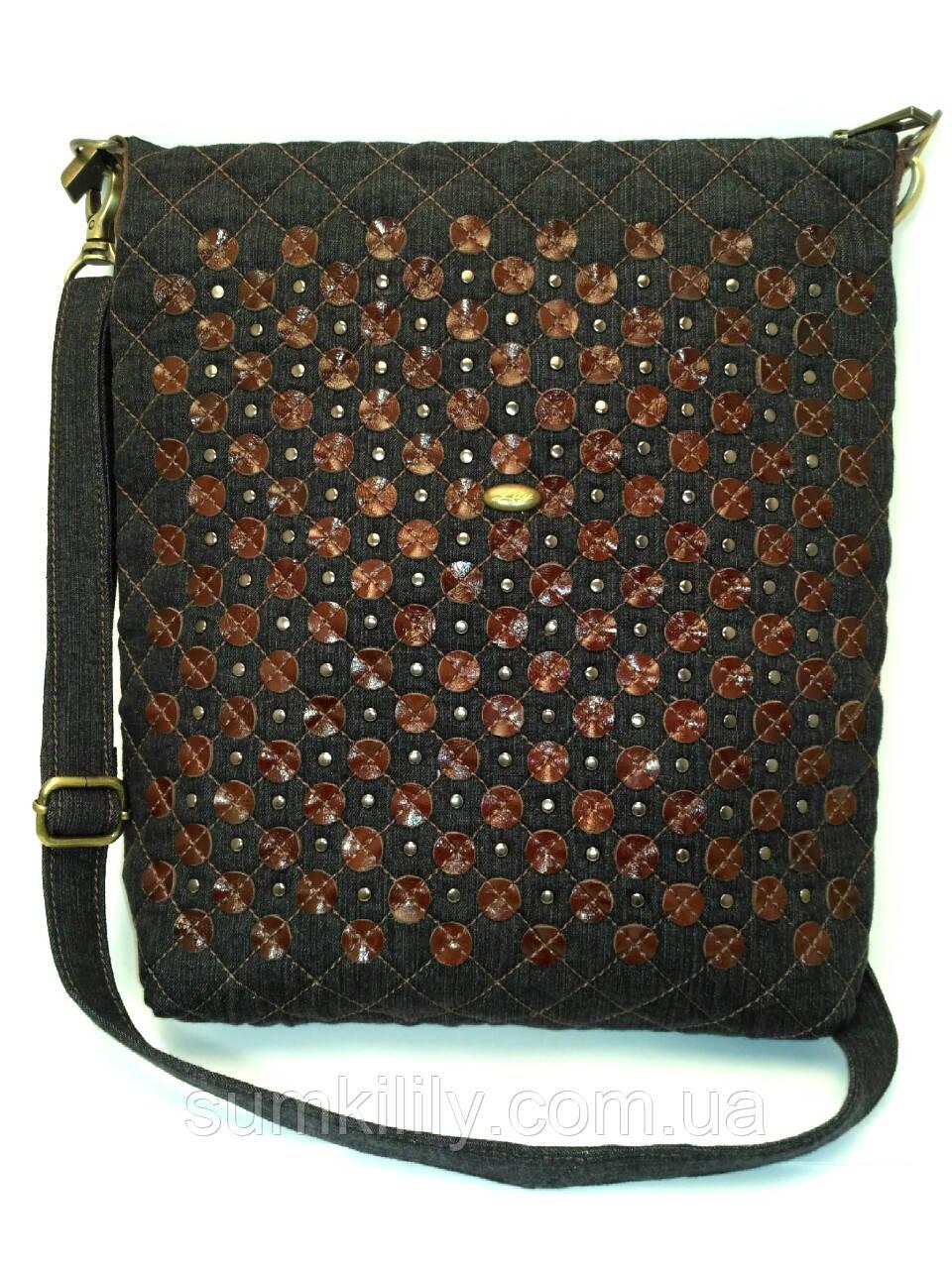 Женская джинсовая сумочка Анжела