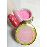 3D Emboss Gel CANNI 002 (нежно-розовая) гель-паста