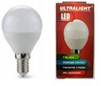 Светодиодная лампа Ultralight P45-5W-N E14    4100К, фото 2