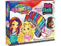 Краски для волос, 10 цветов, микс, в кор.30*26*5см., ТМ Colorino