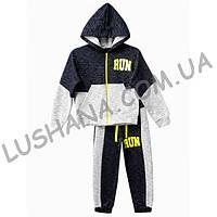 Детский спортивный костюм Run на рост 140-146 см - Двухнитка