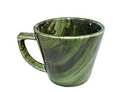 Чашка конус радуга малахит