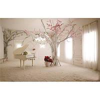 5x3 фута 1.5x1m закрытый рояль дерево пейзаж фотографии фон фото студии для