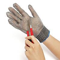 Срезанные безопасности доказательство колотые стойкой нержавеющей стали металлической сетки мясник перчатки
