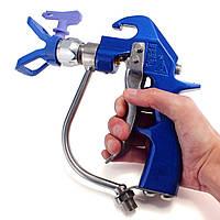 Портативный 4600psi металлик практическая высокого давления безвоздушного распылителя распылитель с голубой сопла