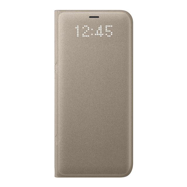 Чехол Samsung Galaxy S8 LED View Cover Gold EF-NG950PFEGRU