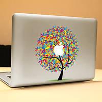 Паг яблоня декоративная ноутбука Наклейка съемный пузырь бесплатно самоклеящиеся частичное sticke цвет кожи