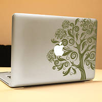 Паг большое дерево декоративное ноутбука Наклейка съемный пузырь бесплатно самоклеящиеся наклейки частичное цвет кожи