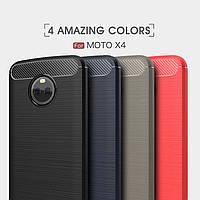 TPU чехол накладка Urban для Motorola Moto X4 (4 цвета)