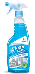 "Очиститель стекол и зеркал ""Clean glass"" (голубая лагуна) , 600 мл."