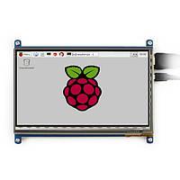 7-дюймовый емкостный сенсорный waveshare ЖК-экран для Raspberry Pi 2 / модель б / B + / B