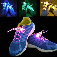 4-го поколения LED светящиеся шнурки шнурки обуви флеш ремень поставок открытый Dance Party