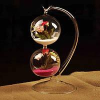Висит мяч стекло форма гидропоники ваза DIY микро пейзаж бутылка домашнего сада украшения партия