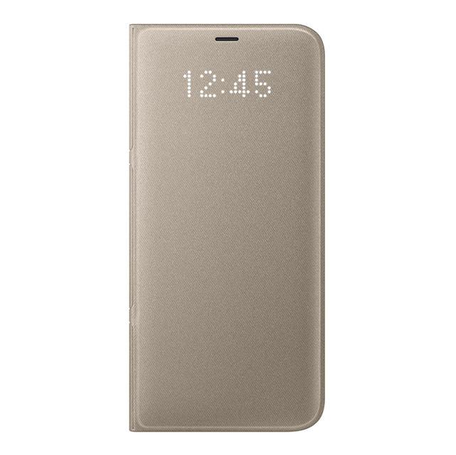 Чехол Samsung Galaxy S8+ LED View Cover Gold EF-NG955PFEGRU