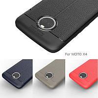 TPU чехол накладка Tiger для Motorola Moto X4 (4 цвета)