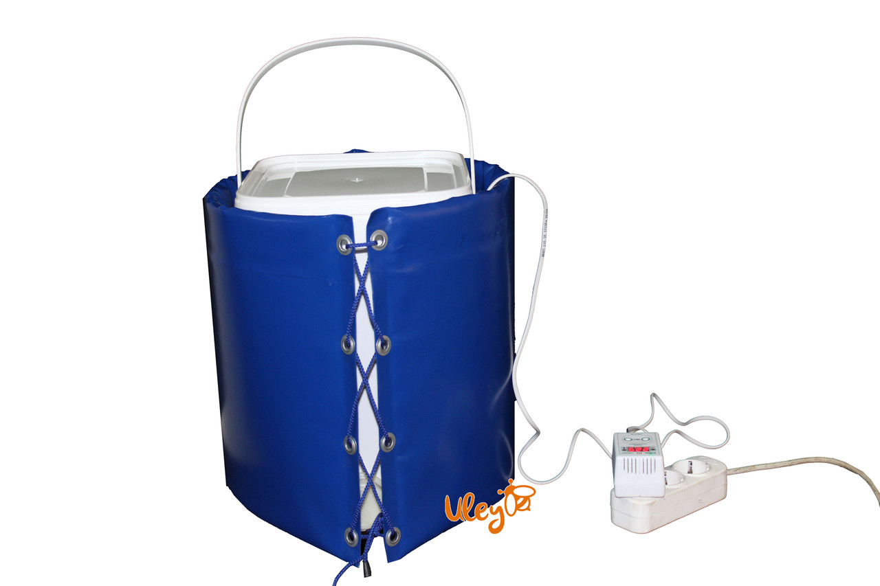 Декристаллизатор с Баком Кубтейнером для фасовки меда 20 л (отстойником для меда) с Цифровым Терморегулятором