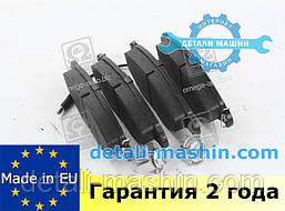 """Колодки тормозные передние (дисковые) Рено Кенго 97 - """"RIDER""""  Renault Kangoo"""