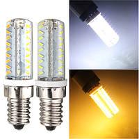 E14 5W кремния 72 3014 SMD LED кукуруза лампа с регулируемой яркостью теплый чистый белый свет лампы 220В