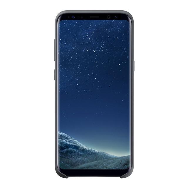 Чехол Samsung Galaxy S8+ Silicone Cover Gray EF-PG955TSEGRU