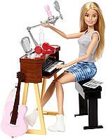 Набор кукла Барби рок-музыкант с гитарой и пианино Barbie Music Musician, фото 1
