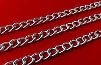 Цепь  декор. 18х14 мм   никель  №3,2