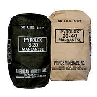 Фильтрующая загрузка Pyrolox, для удаления марганца, железа, л