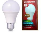 Светодиодная лампа Ultralight A60-10W-N E27 Eco 4100К