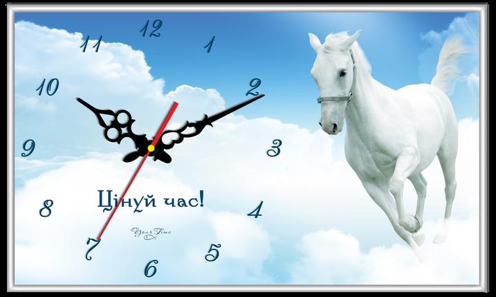 """Годинник настінний прямокутний """"Цінуй час"""", фото 2"""