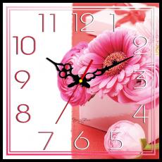 Годинник настінний квадратний , фото 2