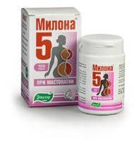 Милона-5 (Эвалар) - при мастопатии