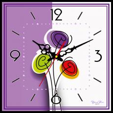 Годинник настінний квадратний, фото 2
