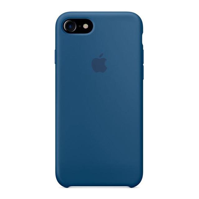 Чехол Apple силиконовый для iPhone 8/7 Light blue (MMWW2ZM/A)