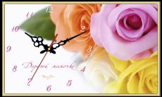 """Годинник настінний прямокутний """"любій матусі"""", фото 2"""