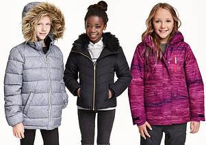 Дитячий верхній одяг від 6 до 16 років