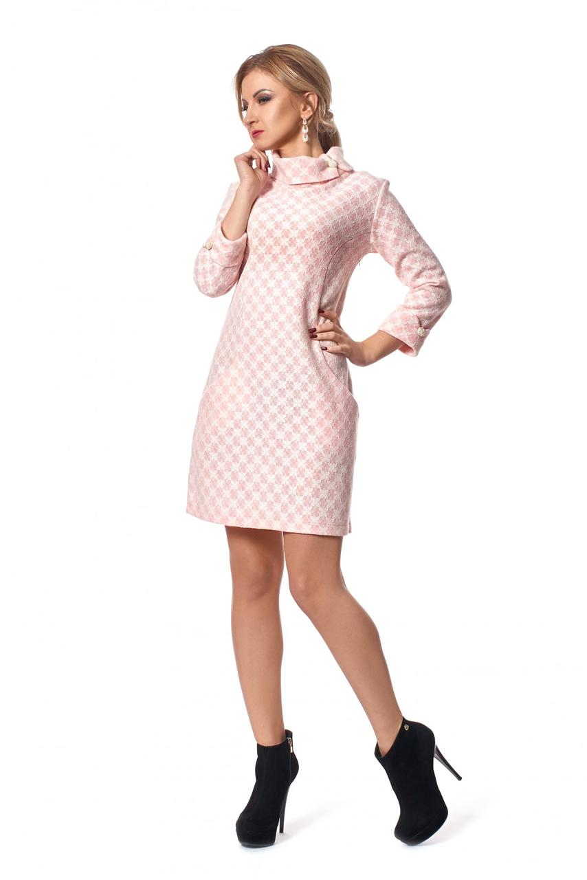 f7917639171 Теплое зимнее платье А-силуэта из шерсти - Оптово-розничный магазин одежды
