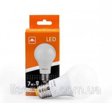 Светодиодная лампа Евросвет A-7-3000-27