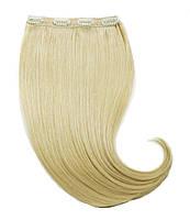Волосы на заколках 60 см. Цвет #613 Блонд, фото 1