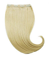 Волосы на заколках 50 см. Цвет #613 Блонд, фото 1
