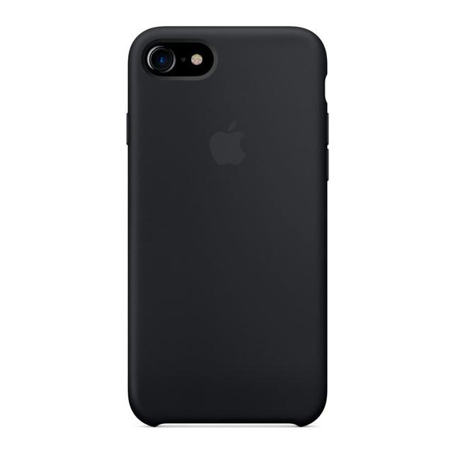 Чехол Apple силиконовый для iPhone 8/7 Black (MMW82ZM/A)